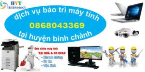 dịch vụ bảo trì máy tính tại huyện bình chánh