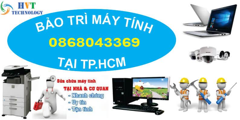 dịch vụ bảo trì máy tính tại tphcm