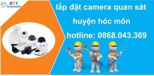 lắp đặt camera quan sát huyện hóc môn
